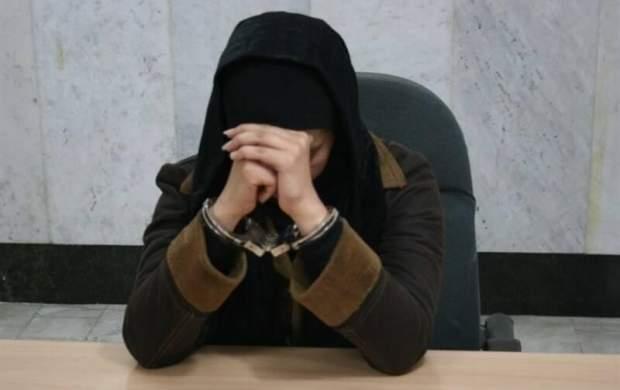 شناسایی و بازداشت زن جوان اغتشاشگر جنوب تهران