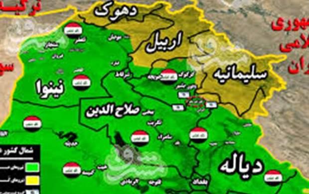 امارات سه هواپیما حامل سلاح در عراق تخلیه کرد