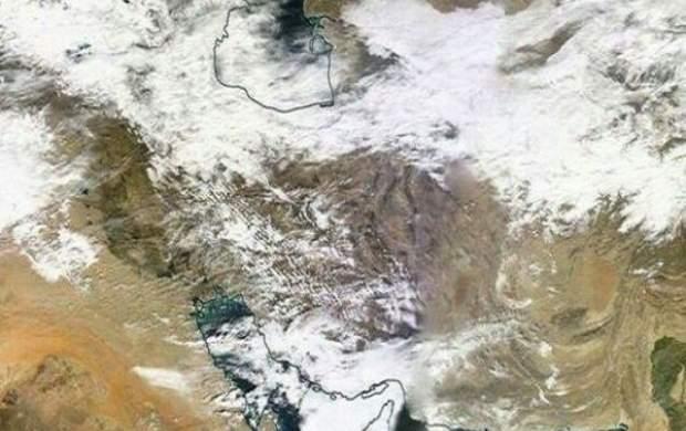 برف و باران در ۲۵ استان تا سه شنبه +جزئیات