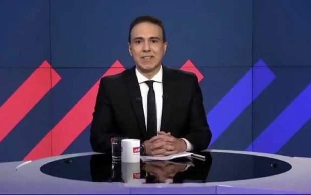 اولین اجرای مزدک در شبکه ضد ایرانی