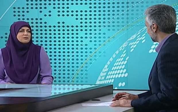 گاف جالب گوینده خبری در پخش زنده