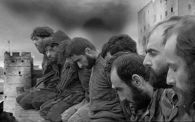 فرمانده سوری جانش را فدای نجات نیروهایش کرد +تصاویر