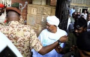 عمر البشیر به ۲ سال حبس محکوم شد
