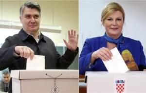 انتخابات ریاست جمهوریکرواسی به دور دوم کشید