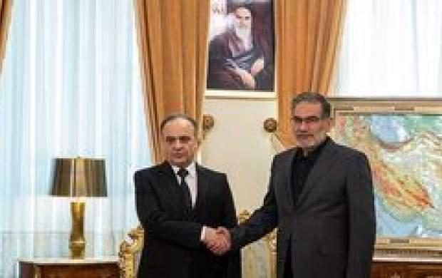 نخستوزیر سوریه با شمخانی دیدار کرد
