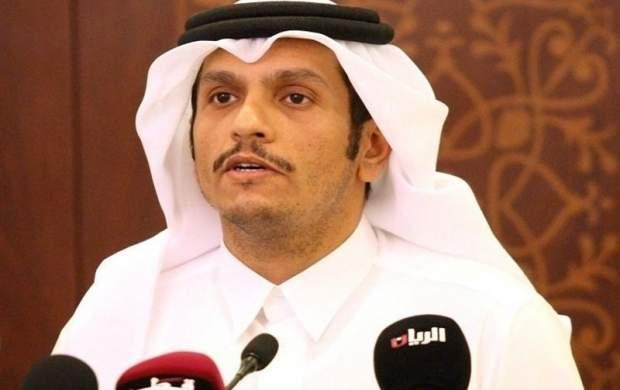 ورود وزیر خارجه قطر به بغداد