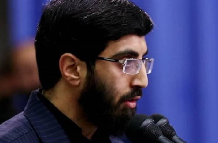 مداحی سید رضا نریمانی در نماز جمعه تهران