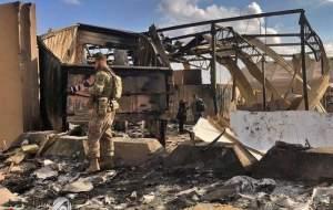 در حمله موشکی سپاه به عین الاسد ۱۳۴ نفر کشته و ۲۴۵ نفر زخمی شدهاند