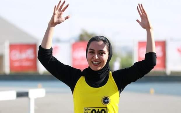 بانوی ملی پوش: دختران ایران چیزی کم ندارند