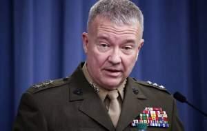 فرمانده سنتکام: تهدید تلافیجویانه ایران ادامه دارد