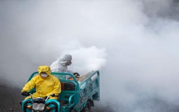فیلم/ نحوه ضدعفونی کردن شهر ووهان چین