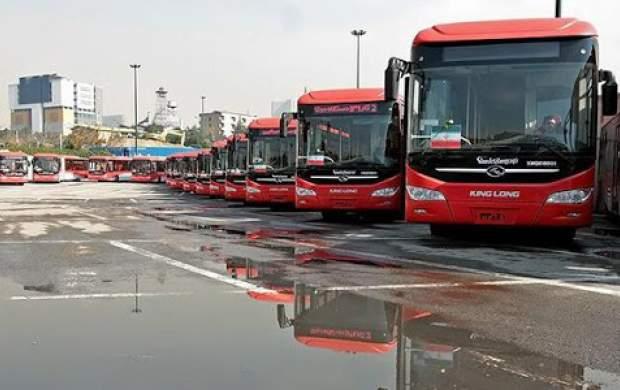 اتوبوسهای BRT در اسفند تمام وقت میشوند