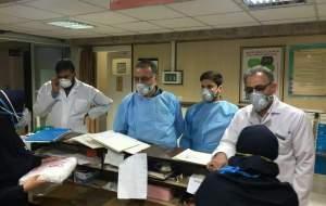 عکس/ حضور زاکانی در بیمارستان قرنطینه کرونا قم