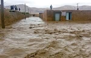 آخرین وضعیت سیل در کرمان