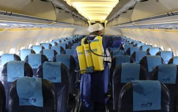 توقف ۱۰۰ درصدی پرواز برخی فرودگاههای کشور