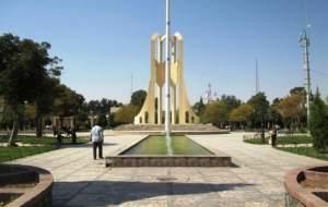 میدان تاریخی کرمان غرق شد
