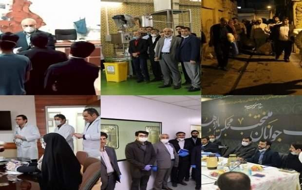 منتخبان تهران این روزها مشغول چه کارهایی هستند؟ +تصاویر