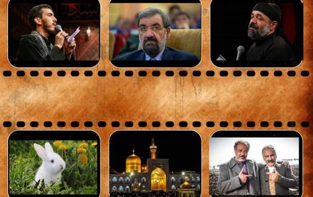 فیلمهای پربازدید جهان نیوز در هفتهای که گذشت/ از مصاحبه جنجالی محسن رضایی با الجزیره تا به احترام ذاکر اهل بیت؛ حاج محمود کریمی