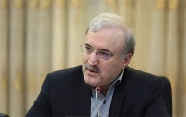 الفاظ زیبای وزیر بهداشت نسبت به رهبرانقلاب