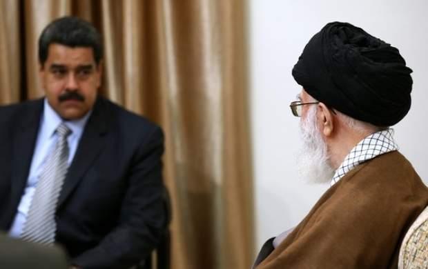 پیام تشکر مادورو از رهبرانقلاب و ایران