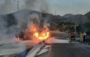 جزئیاتی از آتشسوزی تانکر حاملسوخت در تهران