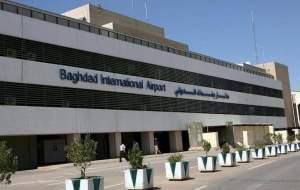 برخورد راکت به نزدیکی فرودگاه بغداد