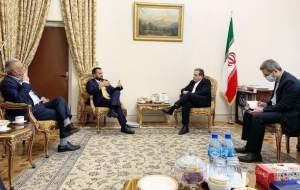 معاون وزیر خارجه افغانستان با عراقچی دیدار کرد