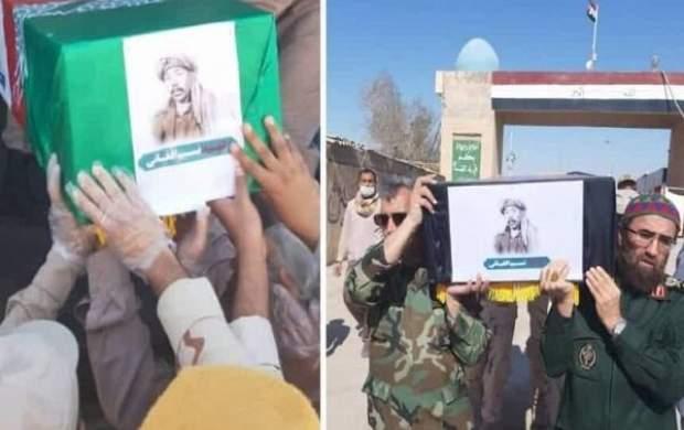 دستور رهبری برای خاکسپاری شهید نسیم افغانی