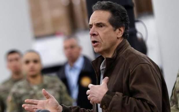 فرماندار نیویورک: دولت ترامپ کرونا را انکار میکند