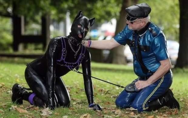 تبدیل ۱۰ هزار شهروند انگلیسی به «سگ» +عکس
