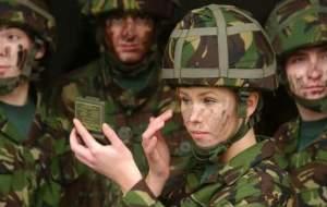 تعرض به زنان در ارتش بریتانیا رکورد زد
