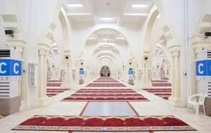 ضدعفونی مسجد نُمره مکه برای عرفه +عکس