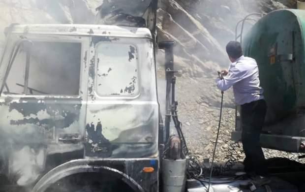 آتش سوزی در زندان قزلحصار تکذیب شد