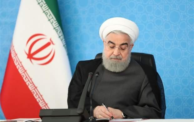 روحانی درگذشت والده عراقچی را تسلیت گفت