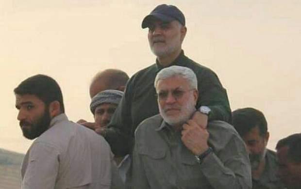 تصاویر جدید از حضور حاج قاسم در خوزستان