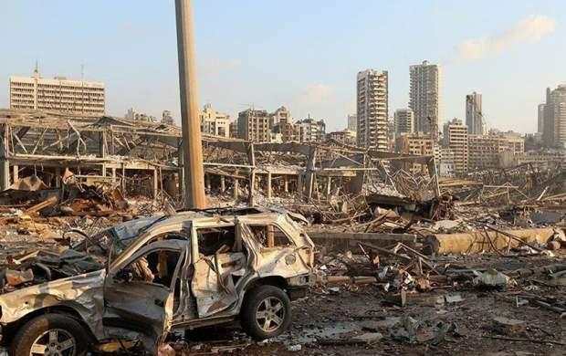 فیلم جدید از انفجار وحشتناک در بیروت