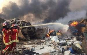 انفجار مهیب و پرخسارت بیروت/ حادثه یا جنایت؟