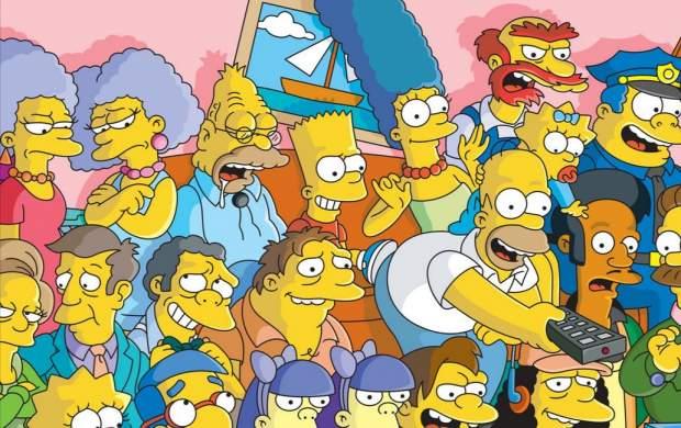 انفجار بیروت لبنان در کارتون سیمپسونها!