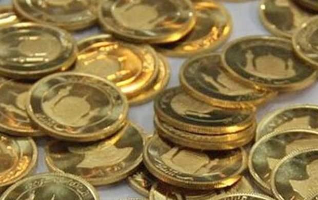 رشد ۱۲۵ هزار تومانی قیمت سکه+ جدول