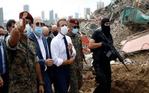 آقای ماکرون! شما عامل بحران لبنان هستید