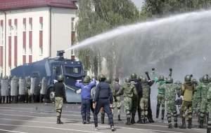 یک کشته در جریان ناآرامیها و اعتراضات در بلاروس