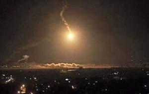 حمله راکتی به بخش نظامی فرودگاه بغداد