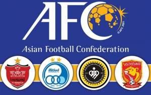 اسامی بازیکنان تیمهای ایرانی لیگ قهرمانان آسیا