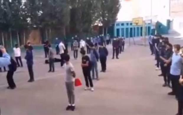 بازداشت عوامل کلیپ غشکردن دانشآموز کرونایی