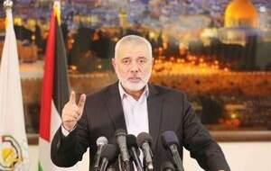 هنیه: با باروت و آتش از فلسطین دفاع خواهیم کرد