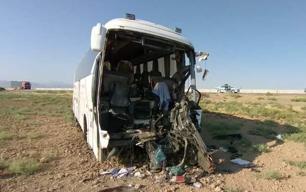 تصادف مرگبار اتوبوس در آزادراه کرج - قزوین