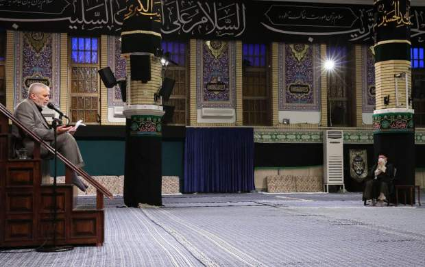 مراسم عزاداری امام سجاد(ع) با حضور رهبرانقلاب