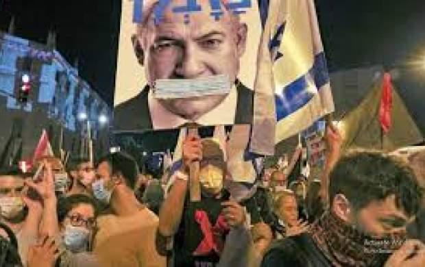 شعار علیه نتانیاهو: زمان تو تمام شده