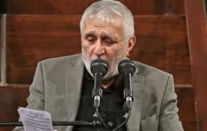 فیلم/ مداحی حاج منصور در حضور رهبرانقلاب
