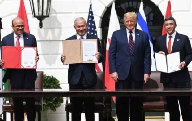 اسرائیل، امارات و بحرین توافق سازش امضا کردند